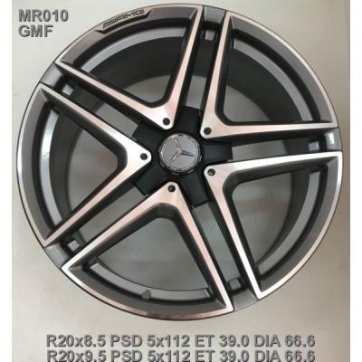 Диски Replica Mercedes (MR010) 8,5x20 5x112 ET39 DIA66,6 (GMF)