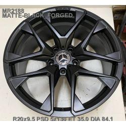 Mercedes (MR2188) matt black