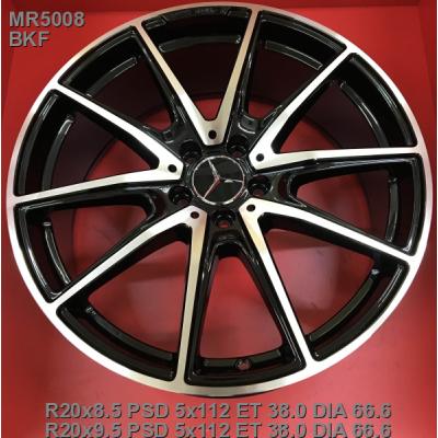 Диски Replica Mercedes (MR5008) 8,5x20 5x112 ET38 DIA66,6 (BKF)