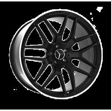 Replica Mercedes (MR762) 9,5x18 5x112 ET35 DIA66,6 (MBL)