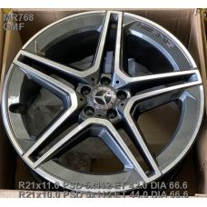Replica Mercedes (MR768) 11x21 5x112 ET42 DIA66,6 (GMF)