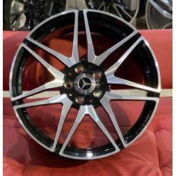Mercedes (MR874) gloss black machined face