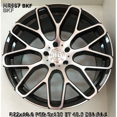 Диски Replica Mercedes (MR967) 10x22 5x130 ET48 DIA84,1 (BKF)