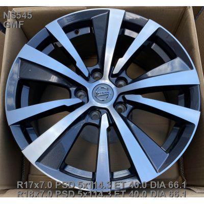 Диски Legeartis NS545 Concept 7x18 5x114,3 ET40 DIA66,1 (GMF)