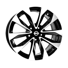 Replica Nissan (NS5515) 8x19 5x114,3 ET50 DIA66,1 (BKF)