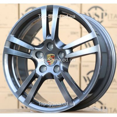 Диски WSP Italy PORSCHE W1054 SATURN ANTHRACITE POLISHED R21 W9,5 PCD5x130 ET53 DIA71,6