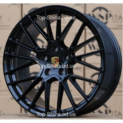 Диски WSP Italy PORSCHE W1058 OKINAWA GLOSSY BLACK R21 W11 PCD5x130 ET58 DIA71,6