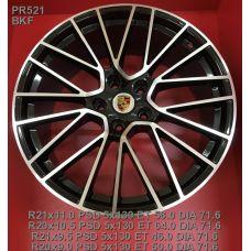 Legeartis PR521 Concept 9,5x21 5x130 ET46 DIA71,6 (BKF)