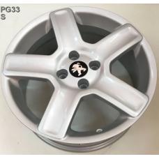 Replay Peugeot (PG33) 7x17 4x108 ET29 DIA65,1 (silver)