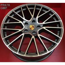 Replica Porsche (PR678) 11x21 5x130 ET58 DIA71,6 (GMF)