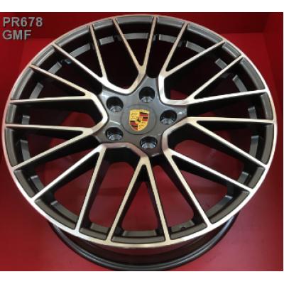 Диски Replica Porsche (PR678) 9,5x21 5x130 ET46 DIA71,6 (GMF)