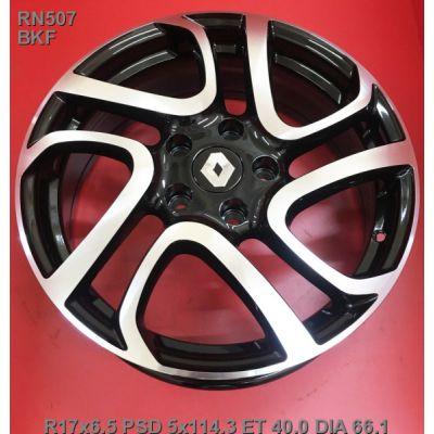 Диски Legeartis RN507 Concept 6,5x17 5x114,3 ET40 DIA66,1 (BKF)