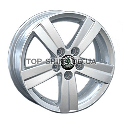 Диски Replay Skoda (SK33) 6x15 5x112 ET47 DIA57,1 (silver)