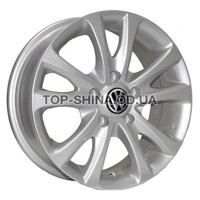 Диски Replica Audi (Z180) 6x15 5x112 ET40 DIA57,1 (silver)