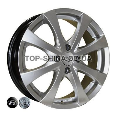 Диски Replica Hyundai (7345) 6x16 4x100 ET48 DIA54,1 (HS)