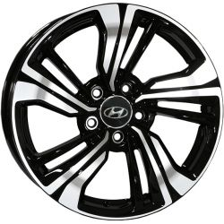 Hyundai (15363) black polished