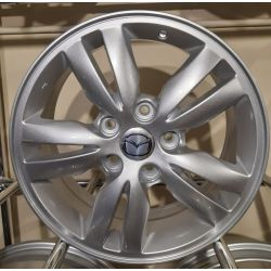 Mazda (ZY638) silver
