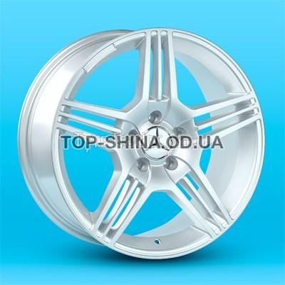 Диски Replica Mercedes (JT1228) 8,5x18 5x112 ET35 DIA66,6 (silver)