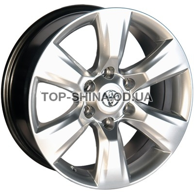 Диски Replica Toyota (D272) 7,5x17 6x139,7 ET25 DIA106,1 (HS)