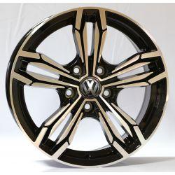 Volkswagen (5297D) black polished