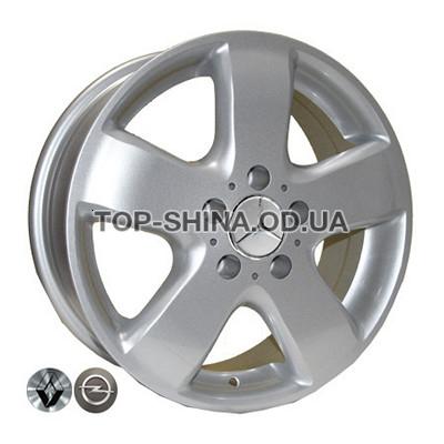 Диски Replica Volkswagen (Z343) 6,5x16 5x120 ET45 DIA65,1 (silver)