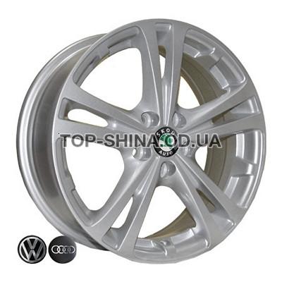 Диски Replica Volkswagen (Z616) 6x15 5x100 ET43 DIA57,1 (silver)