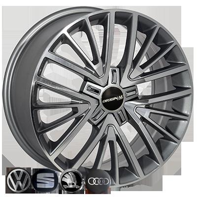 Диски Replica Volkswagen (TL1356NW) 7,5x17 5x112 ET50 DIA57,1 (GMF)