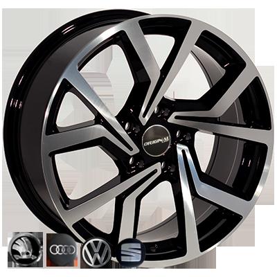 Диски Replica Volkswagen (BK5125) 7,5x17 5x112 ET45 DIA57,1 (BP)