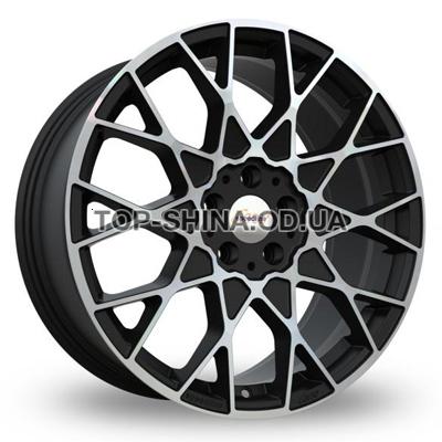 Диски Speedline Cesare 9x19 5x120 ET40 DIA82 (matt black front diamond cut)