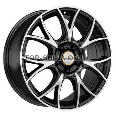 Диски Speedline Vincitore 8x18 5x114,3 ET40 DIA82 (matt black front diamond cut)