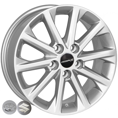 Диски Replica Toyota (BK581) 6,5x16 5x114,3 ET40 DIA60,1 (silver)