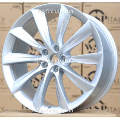 Диски WSP Italy TESLA W1402 VOLTA SILVER R22 W9 PCD5x120 ET35 DIA64,1