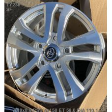 Legeartis TY236 Optima 8x18 5x150 ET56 DIA110,1 (SF)