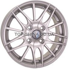 Tech Line TL1406 5,5x14 4x100 ET43 DIA60,1 (silver)