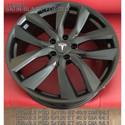 Диски Replica Tesla (TES981) 8x19 5x120 ET40 DIA64,1 (satin black)