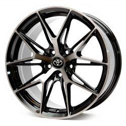 Toyota (CN743) black front polished black coa