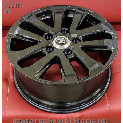 Диски Replica Toyota (TY016d) 8x20 5x150 ET58 DIA110,1 (BK)