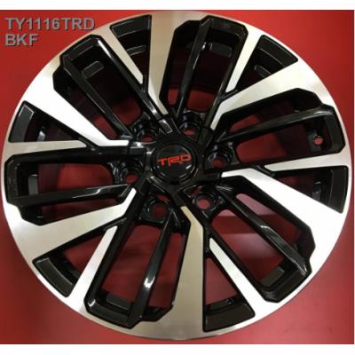 Диски Replica Toyota (TY1116TRD) 7,5x18 6x139,7 ET25 DIA106,1 (BKF)
