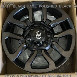 Toyota (TY1623) black face