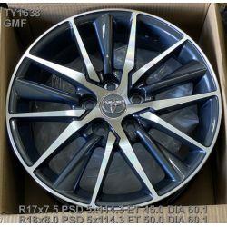 Replica Toyota (TY1638) 7,5x17 5x114,3 ET45 DIA60,1 (GMF)