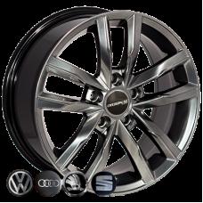 Replica Volkswagen (BK5182) 7,5x17 5x112 ET45 DIA57,1 (HB)