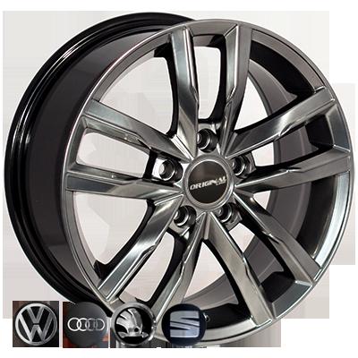 Диски Replica Volkswagen (BK5182) 7,5x17 5x112 ET45 DIA57,1 (HB)