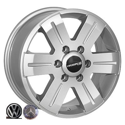 Диски Replica Volkswagen (BK562) 7x16 6x130 ET60 DIA84,1 (silver)