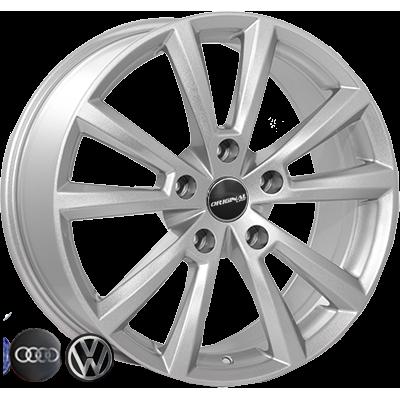 Диски Replica Volkswagen (FR471) 8x18 5x130 ET57 DIA71,6 (silver)