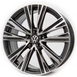 Volkswagen (KW095) dark gun metal machined face