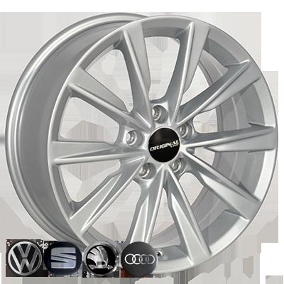 Диски Replica Volkswagen (TL0285NW) 7x17 5x112 ET43 DIA57,1 (silver)
