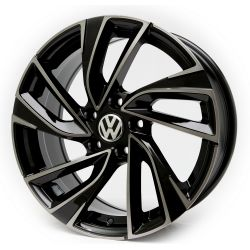 Volkswagen (V113) black front polished black coa