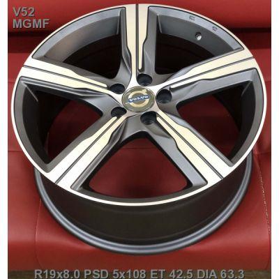 Диски Replay Volvo (V52) 8x19 5x108 ET42,5 DIA63,4 (MGMF)