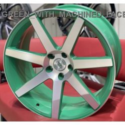 WS1245 MATTE_GREEN_WITH_MACHINED_FACE_FORGED