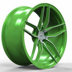WS1250 matt green machined face